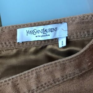 YSL Yves Saint Laurent skirt